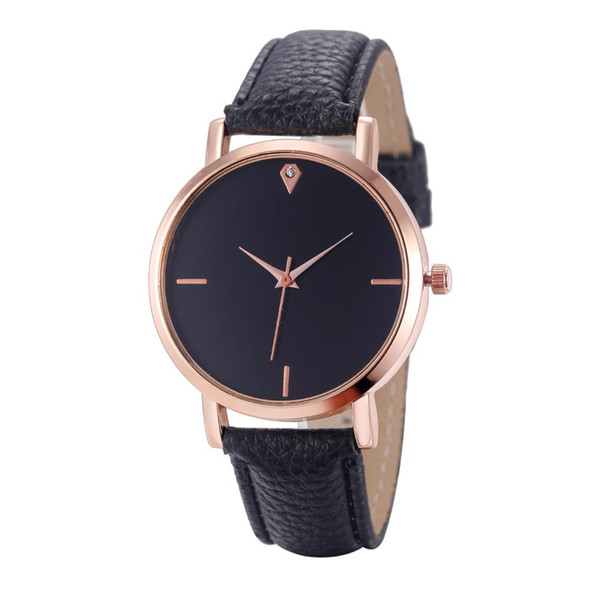 Hot Sale Saat Clock Watches Women's Watches Girl Simple Style Quartz Wrist Watch Thin Leather Strap Casual Reloj Mujer