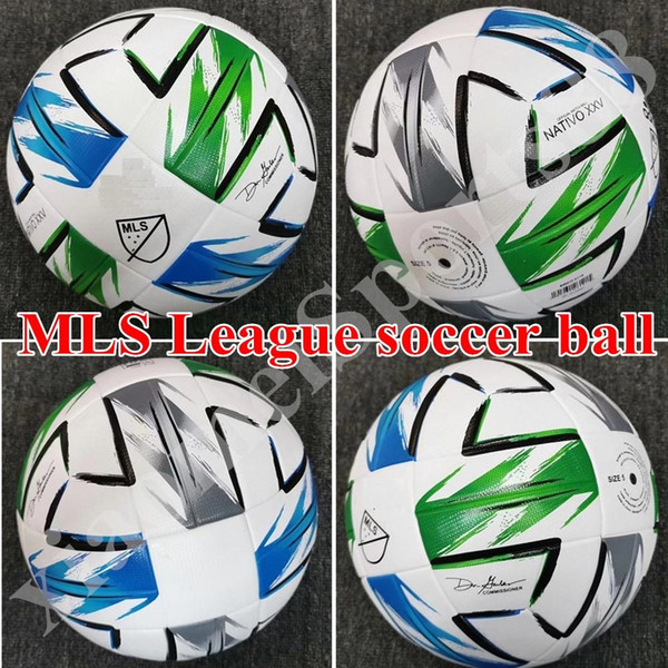 top popular 2020 American League high quality ball MLS Soccer ball 2020 USA Final KYIV PU size 5 balls granules slip-resistant football Free shipping 2021