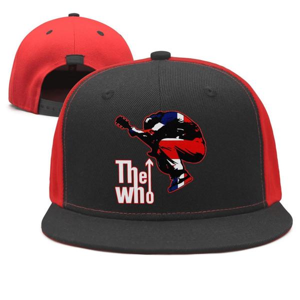 The Who 4 Coaster Set Design Snapback Flatbrim Baseball Cap Hip-Hop Dad Hat Adjustable Crazy