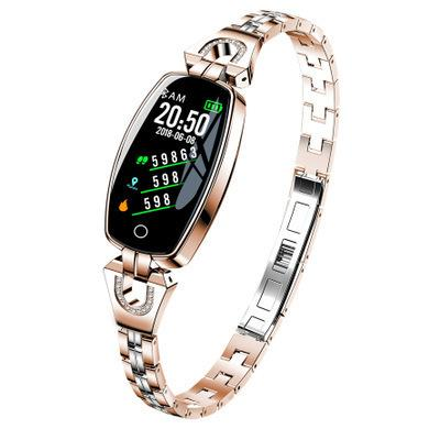 New Pattern H8 Ma'am Bracelet Ecg High Clear Color Screen Weather Forecast Waterproof Heart Rate Blood Pressure Healthy Testing Female Sex