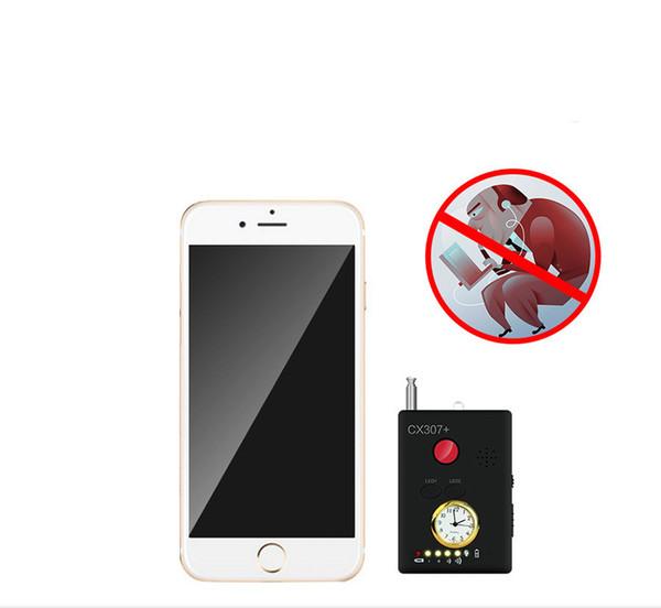 CX307 + Mini rilevatore di fotocamere GPS Tracker Finder Maggiore sensibilità Multi-funzionale Dispositivo GSM Finder Bug Lens Detector RF Signal Detector