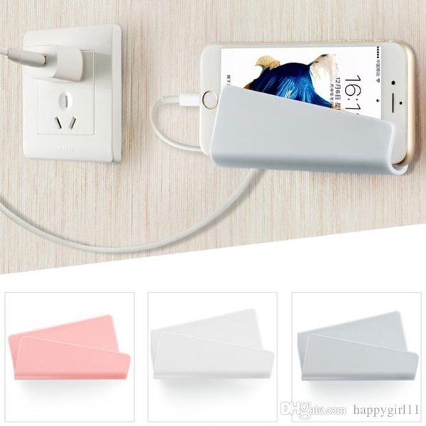 Good WHOLESALES Voguish fantastic Wall mobile phone rack dull polish Charging bracket # gongdajiong #414 FOR Cell Phone Mounts & Holders