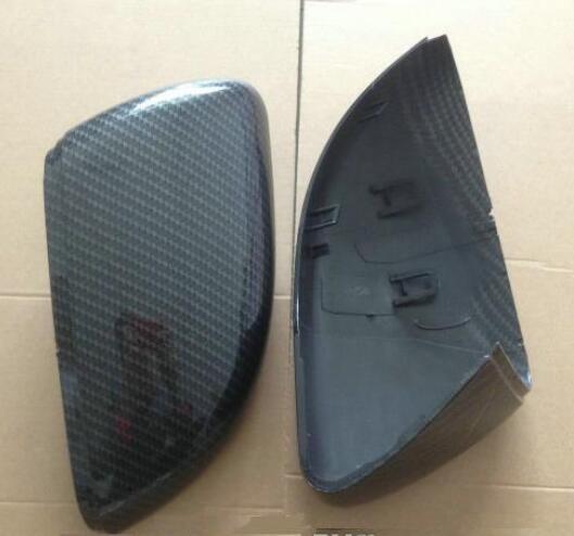Kibowear for VW Golf 6 R GTI 7 GTD Side Wing Mirror Covers Scirocco Caps (Carbon Pattern) Passat B7 MK6 MK7 RLINE