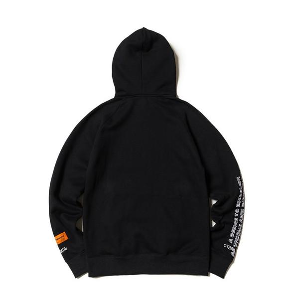 2020 Heron Preston Hoodies Crane Imprimé Designer Hoodie Sweatshirts Hommes Femmes Sweats à capuche Hip Hop Pull noir Streetwear manches longues 4451