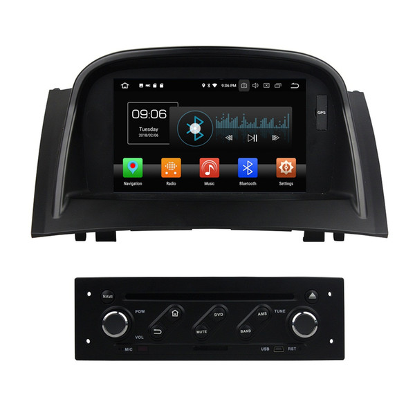 TDA7851 Android 8.0 4GB RAM 32GB ROM Car DVD GPS Glonass RDS Radio wifi Bluetooth For Renault Megane 2 II 2004 2005 2006 2007 2008 2009
