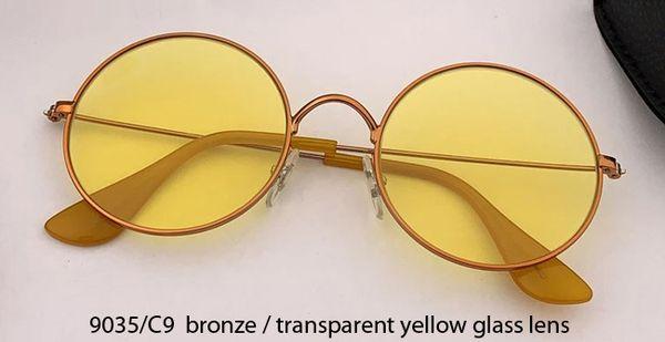 9035/C9 bronze/transprent yellow