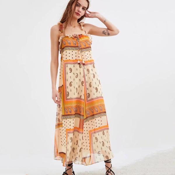 2019 Nuevo vestido casual de verano para mujer vestido de moda casual estilo verano vestido de playa ZR 1110 envío gratis