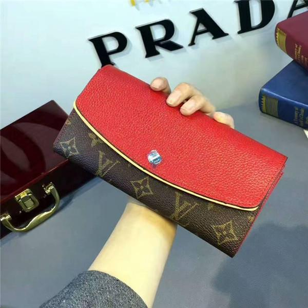 best selling Designer Brand N61261 Normandy Wallet Women Classic Clutch Bag Wallets Purse Mini Clutches Exotics Evening Chain Belt Bags