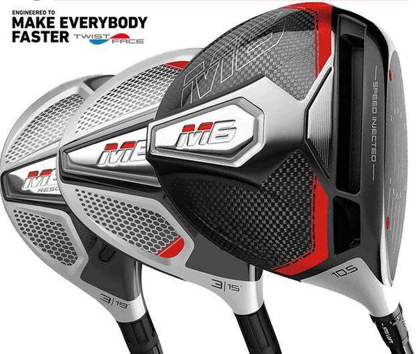 Late t model golf club m6 golf driver 3 fairway wood 3 hybrid or 5 wood bundle multibuy headcover deal real pic contact eller