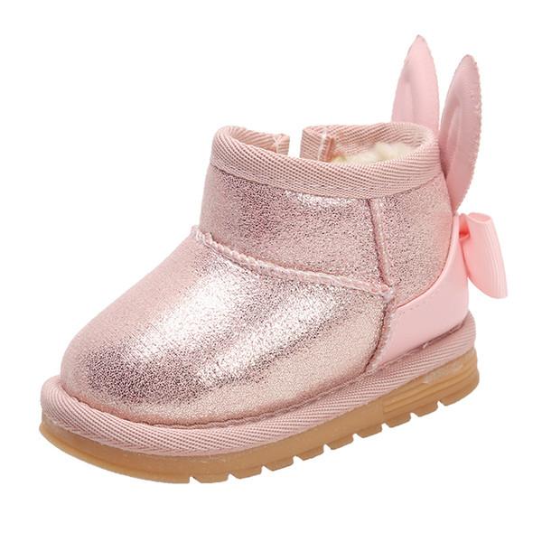 wholesale dealer b0c5f 8373a Großhandel Winter Kleinkind Schuhe Baby Mädchen Baumwolle Schuhe Warme  Weiche Unterseite Schneeschuhe Kinder Stiefel Mädchen Von Phononame, $26.37  Auf ...