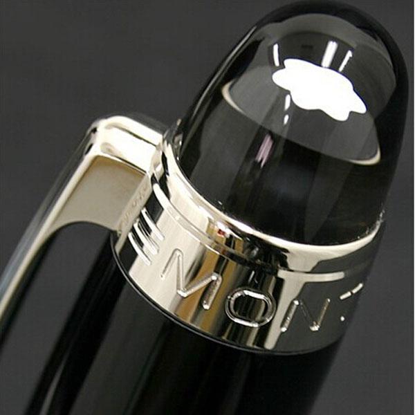Promoção de Luxo caneta Star-waiker Rollerball Resina Preta-esferográfica caneta Canetas de Escrita papelaria Material de escritório da escola de Alta qualidade