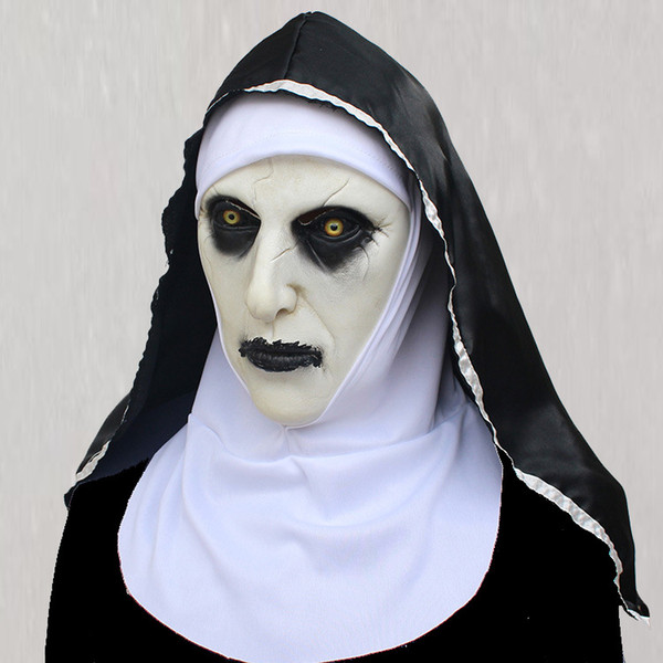 Sister Mask Halloween Horror Headset Horror Sister Halloween Party props Horror Sister Headset Film props scary props