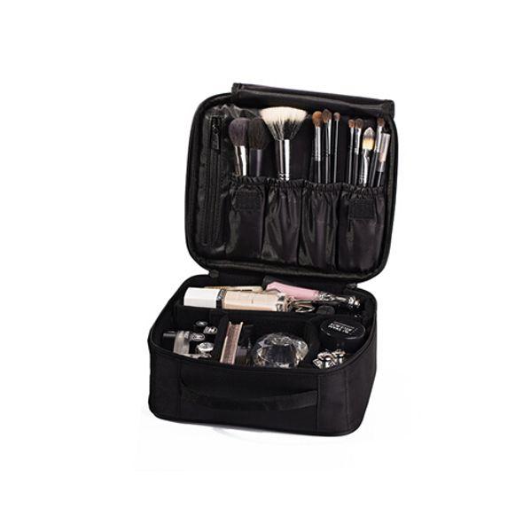 المرأة حقيبة مستحضرات التجميل عالية الجودة السفر التجميل المنظم زيبر حقيبة ماكياج المحمولة المصممين جذع حقائب التجميل