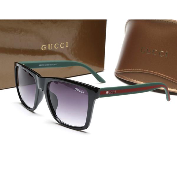 الرجال 6566 نظارات شمسية جديدة ريترو الإطار الكامل نظارات العلامة التجارية الشهيرة مصمم النظارات الشمسية النظارات الفاخرة خمر