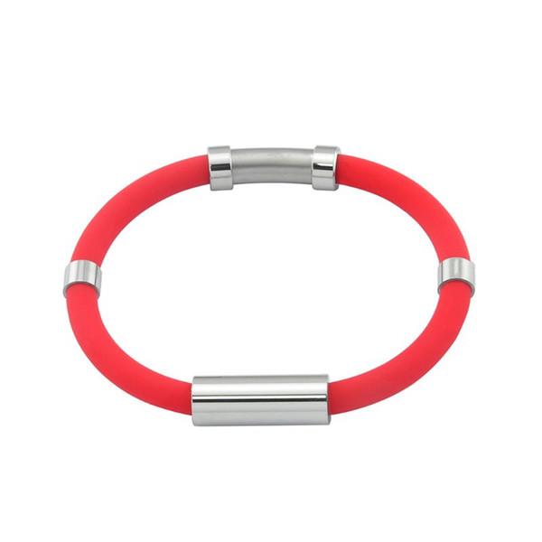 2019 New Adjustable Anti-Static Silicone Bracelet Body Static Magnetic Sports Wristband