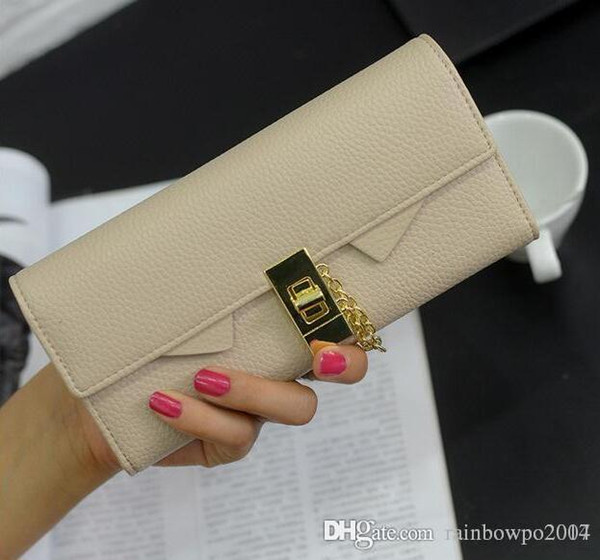 factory sales woman wallet purse new trend wristlock embossed women elegant long long wallet card package seventy percent off ladies