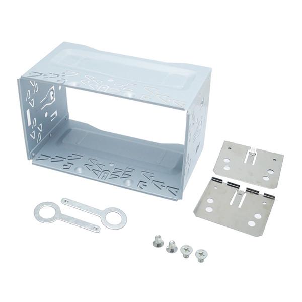 Car Radio 2DIN Installation Metal Cage Kits Brackets/Screws/Keys for Volkswagen 1997-2009 Series Jetta Chico Golf Bora/Polo/MK3/MK4 #1463