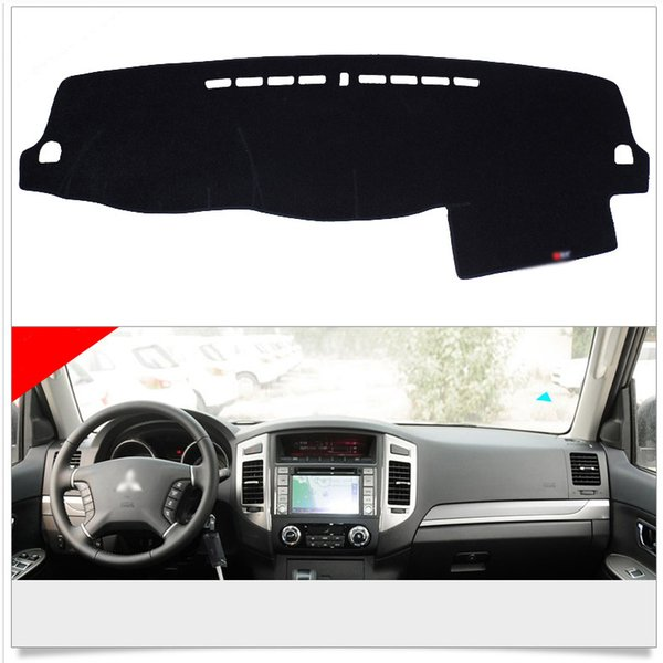 Interior Dashboard Carpet Photophobism Protective Pad Mat For Mitsubishi Pajero
