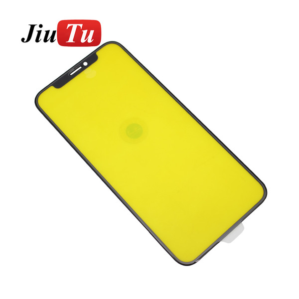 JiuTu For iPhone XS New Front Glass Cover Touch Screen Panel Outer Glass Lens Replacement Parts