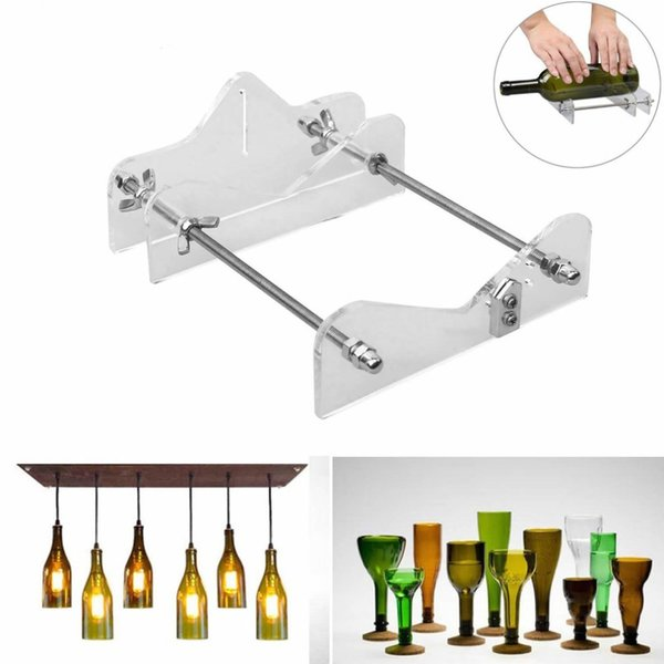 Glass Bottle Cutter Tool Professional For Bottles Cutting Glass Bottle-Cutter DIY Cut Tools Machine Wine Beer