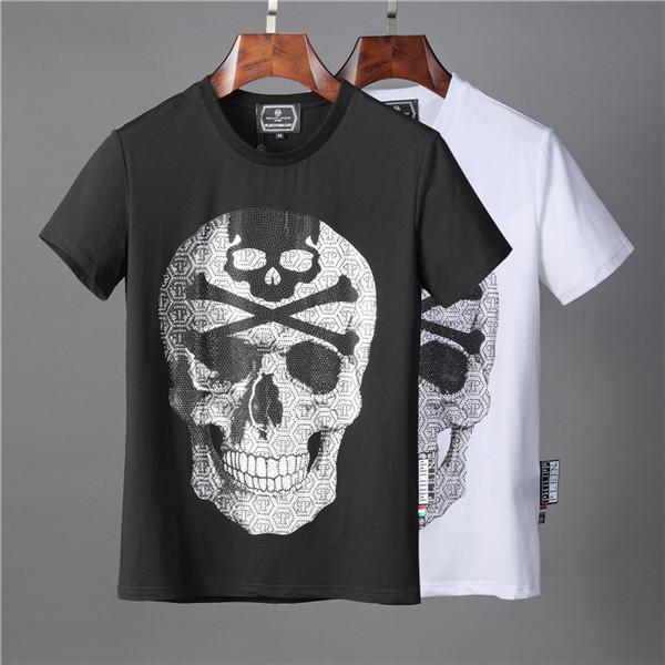 New Arrival Summer Men T Shirt Hip Hop Short Sleeve Slim Tops T-Shirts Fashion Medusa Casual Man T-Shirt Boy Tshirt