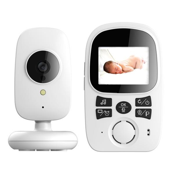 2.4 '' LCD Color LCD Video Baby Monitor Sleep Monitoring Camera Night Vision Temperature Sensor 2 Way Audio Talk Monitor A99