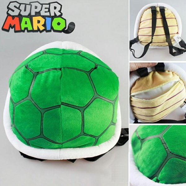ool backpack Hot cartoon children's 3D plush backpack cool Super Mario Bros plush school bag cosplay turtle bag toy for kindergarten boy ...