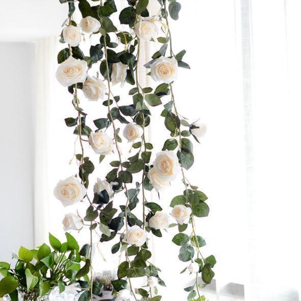 White Flower vine