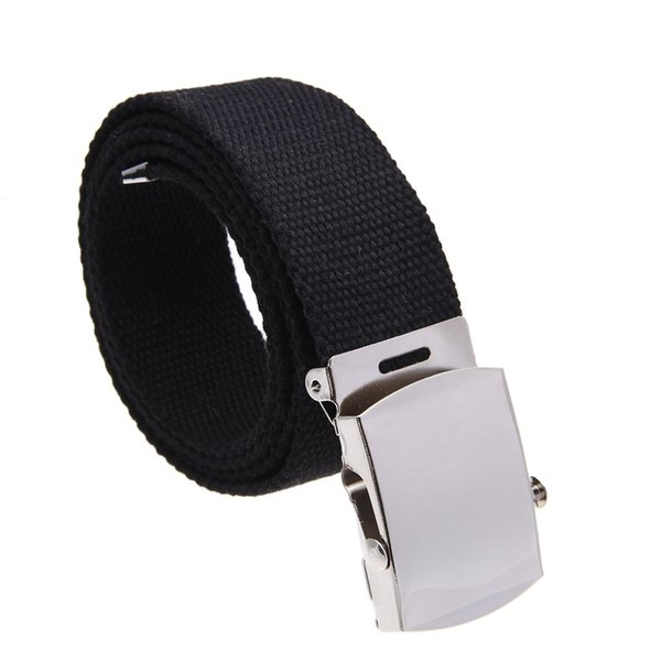 SAF-Cloth belt waistband Band Belt Black Men 38mm
