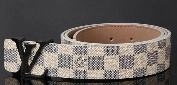 New Luxury designer belts for Men and Women Designer Belt Luxury Genuine Leather Belt Gold Silver Black Buckle