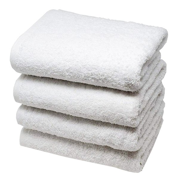 Cotton 55G Disposable Pedicure Hotel Bath Spa Gym Gym Bathroom Fitness White Towel