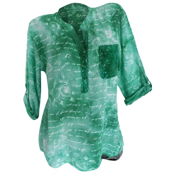 Plus Size Summer 2019 T Shirt Women Streetwear Casual Loose Sequins Printed Korean Clothes Vetement Femme 2019