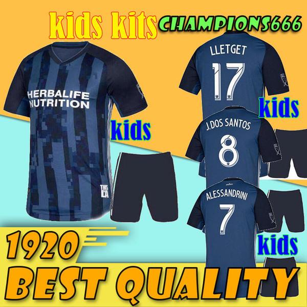 2019 MLS LA Galaxy Soccer Jersey KIDS Kit 19 20 Los Angeles Galaxy Camisetas  de fútbol fd7a30714875f