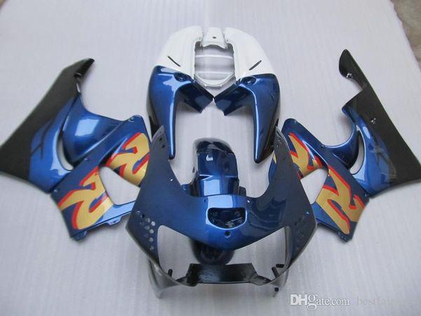 Carenados blanco azul negro para Honda CBR900RR CBR919 1998 1999 kit carenado CBR919RR 98 99 NZ11