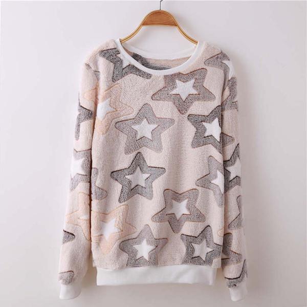 Spring Winter Brand Fashion Harajuku Cute Teddy Bear Harajuku Hoody Sweatshirt For Women High Quality Flannel Pullover Tops