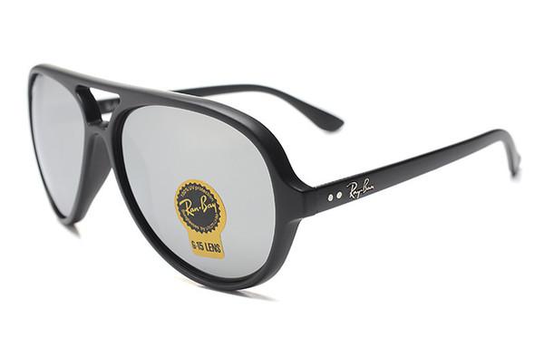 2020 chaude Livraison gratuite de haute qualité Hommes Femmes Ray Lunettes de soleil Marque Mode Oculos Homme bande Lunettes de soleil Driving ba RV15 extérieur Lunettes