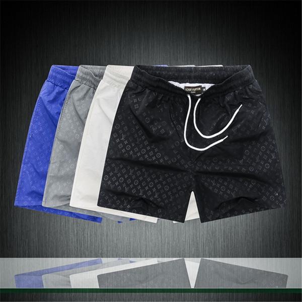 New Board Shorts Mens Summer Beach g Shorts Pantaloni Costumi da bagno di alta qualità Bermuda Lettera maschile Surf Life Men Swim Tiger Shorts