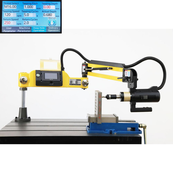 best selling CE 220V M6-M36 Universal Type Electric Tapping Machine Electric Tapper Tapping Tool Machine-working Taps Threading Machine
