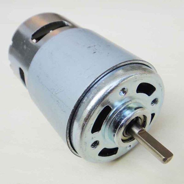 Universal 775 12-24V DC Large Torque Motor Ball Bearing for GrassTrimmer
