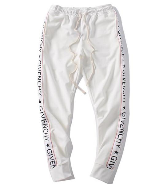 GVC Fashion College Side полосатые мужские спортивные брюки мужские хип-хоп брюки мужские бегунов твердые брюки спортивные штаны