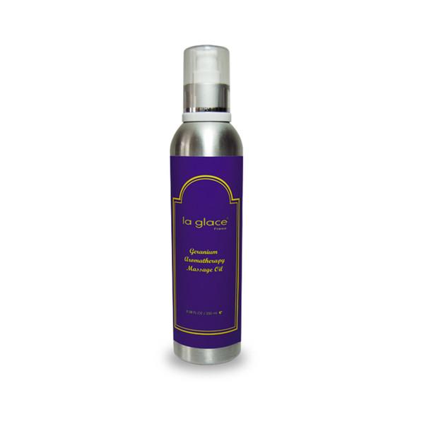 la glace - Óleo de Massagem de Gerânio Aromaterapia - 250 ml