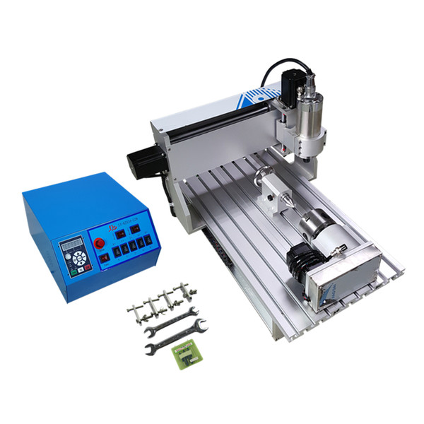 mini engraving machine 3020 800w 3axis 4axis cnc router for diy working metal