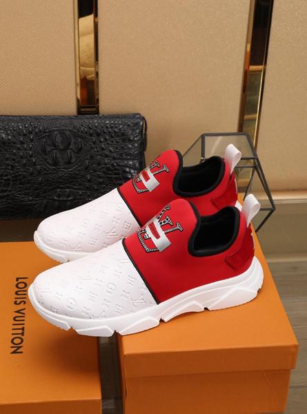 2019t ultime scarpe da uomo d'affari casuali degli uomini personalizzati, scarpe sportive selvaggi moda, scatola originale scatola di scarpe di consegna, yardage: 38-44