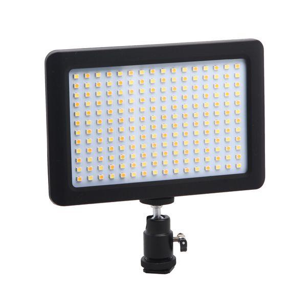 Lampe d'appoint à DEL, mariage avec caméra en dehors du tournage, nouvelle lumière, lampe vidéo, 192 sources de lumière, portable, envoie Yuntai, matériel ABS.