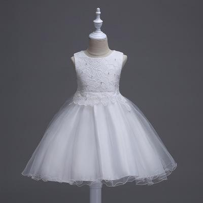 For Sale cheap Summer Flower Girl Dress Top Grade Baby Princess Dresses for Girls Wedding Party Kid Girls Clothes