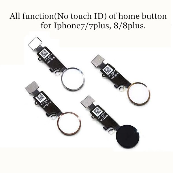3rd Genuine Universal Home Button Flex for iPhone 7 8 Plus Return Function No Touch ID