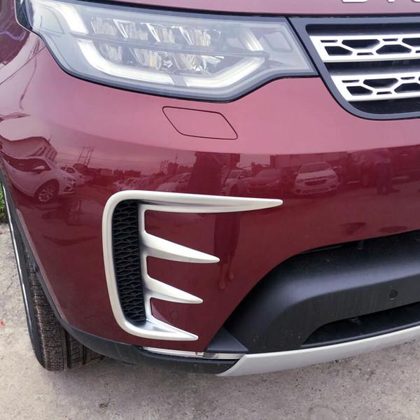 Для обнаружения 5 L462 2017 2018 ABS передних противотуманных фар крышка отсека лампы украшение TRIM 2pcs автомобиля Стайлинг