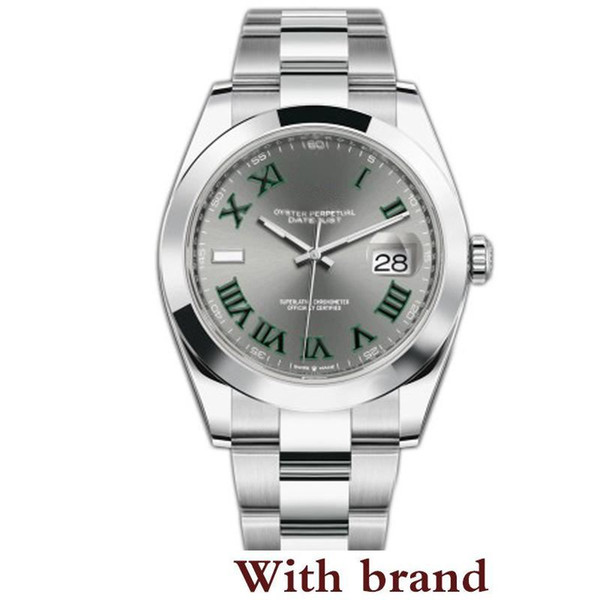 V3 Automatic 2813 Mechanical Watch Men Datejust 41mm Stainless steel Sapphire Glass solid Clasp President Mens Watches Male Wristwatch