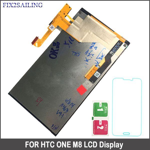 HTC ONE M8 Için toptan 100% Test 5.0 inç Ekran LCD Dokunmatik Ekran LCD Digitizer Meclisi Değiştirme M8 831c