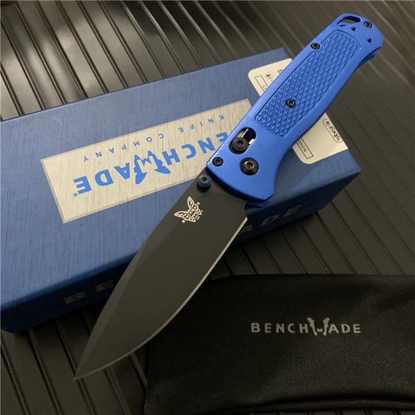 Black Blade Blue Handle